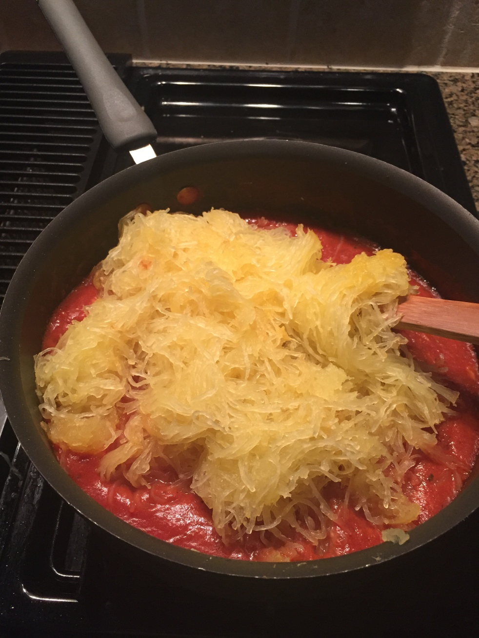 Spaghetti squash date night