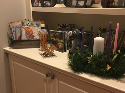 Our advent station.